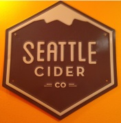 seattle cider sign