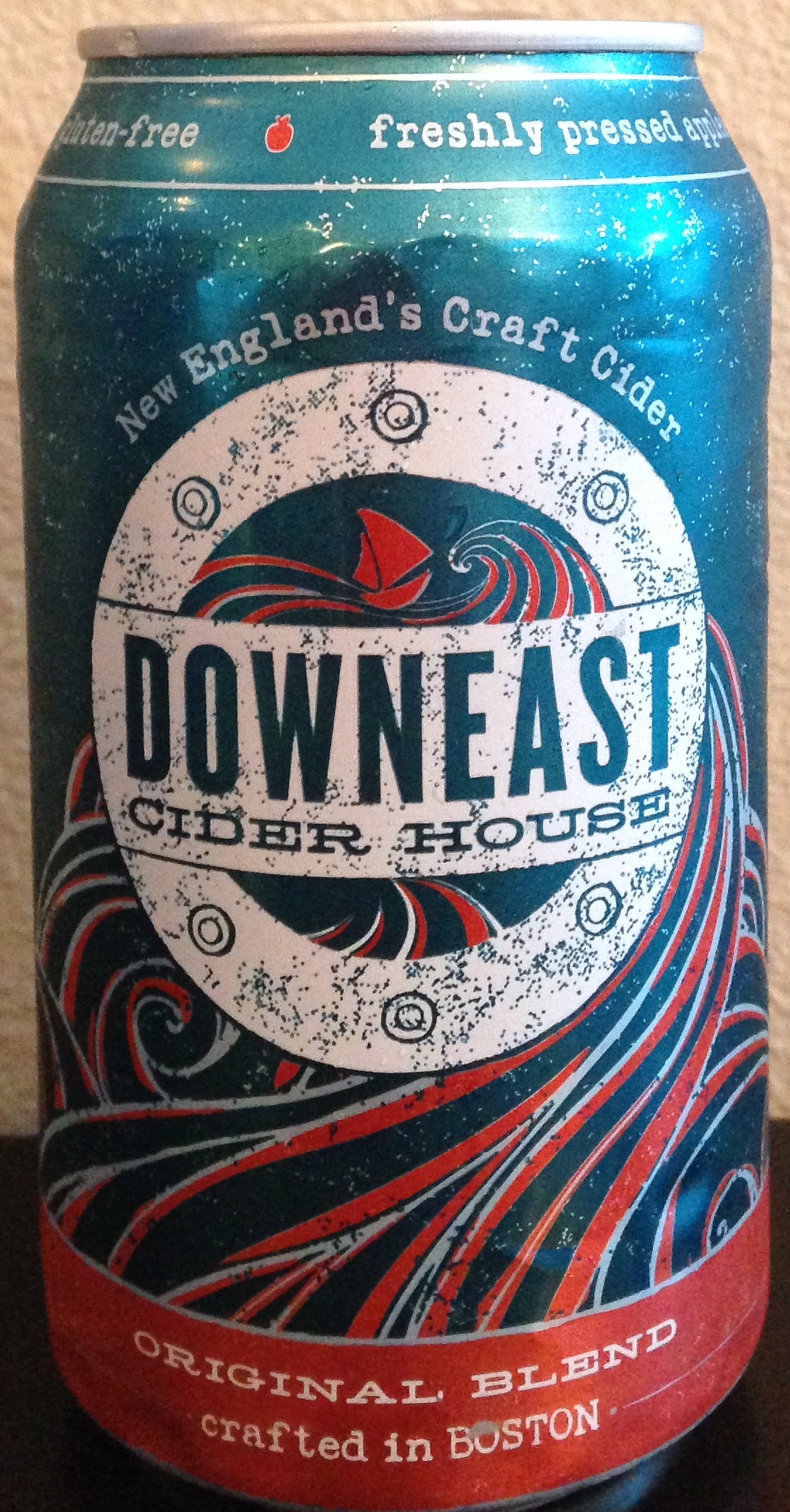 Downeast Cider House Original Blend Cider Says
